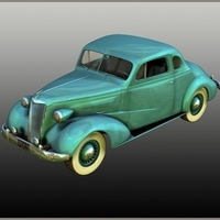 Chevrolet 1937 Coupe Themed Transportation Nationale7