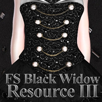 FS Black Widow Resource III 3D Models 2D FrozenStar