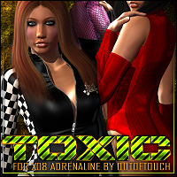 Toxic for X08: Adrenaline Clothing ShanasSoulmate