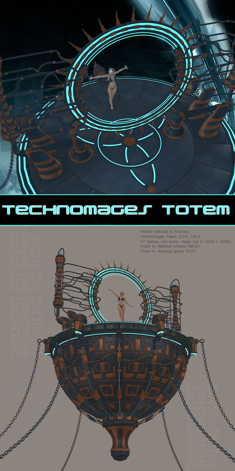 Technomages Totem by 1971s