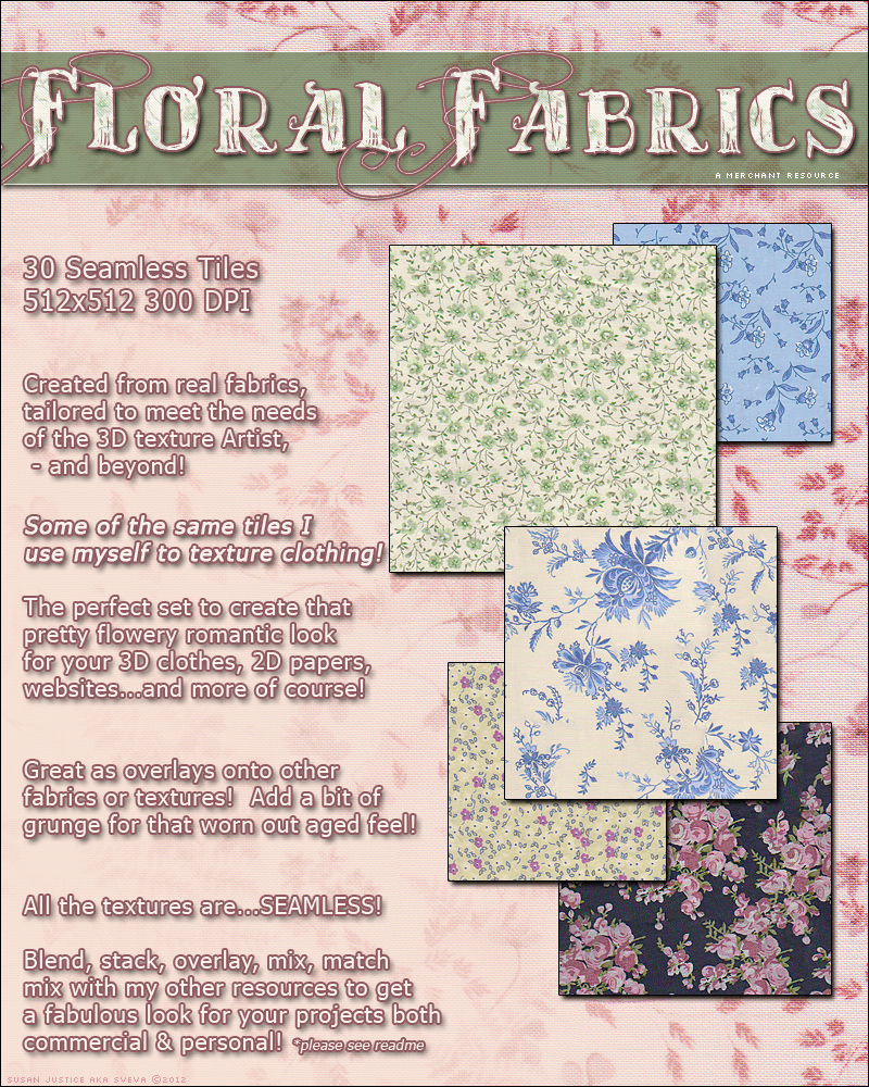 Merchant Resource: Floral Fabrics