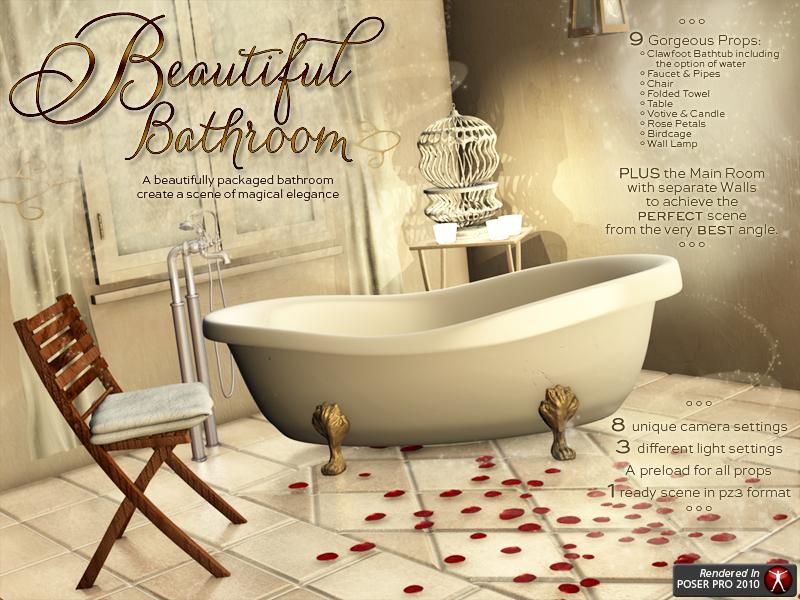 i13 LK Beautiful Bathroom by biglovepose