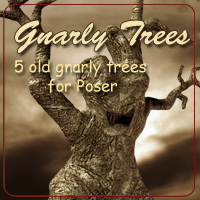 Gnarly Trees 3D Models AdamantGrafix