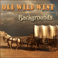 Old Wild West 2D And/Or Merchant Resources Themed -Melkor-