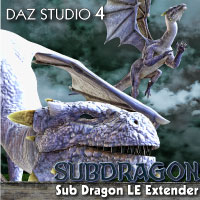 Design Anvil Millenium Sub Dragon LE Extender 3D Models 3D Figure Essentials Razor42