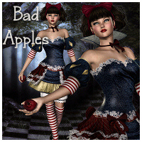 Bad Apples V4 3D Figure Assets 3D Models Propschick