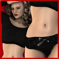 Sexy Relaxed for Genesis 3D Figure Assets vyktohria