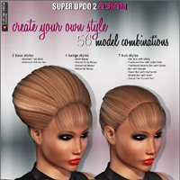 Super Updo 2 - Asian image 1