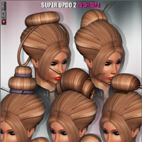 Super Updo 2 - Asian image 2