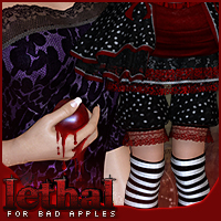 Lethal for Bad Apples Clothing Sveva