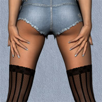 The Cutoff Jeanz for V4, A4, G4 image 2