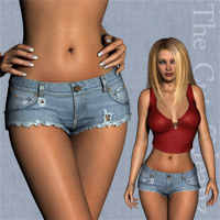 The Cutoff Jeanz for V4, A4, G4 image 3