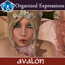 Avalon 167 Organized Expressions Software Themed Poses/Expressions EmmaAndJordi