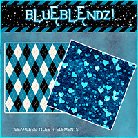 Addendum BlueBlendz! 2D And/Or Merchant Resources 3DSublimeProductions