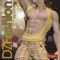 DZ Fashion Set 5 for M4H4Guy4 3D Figure Essentials dzheng
