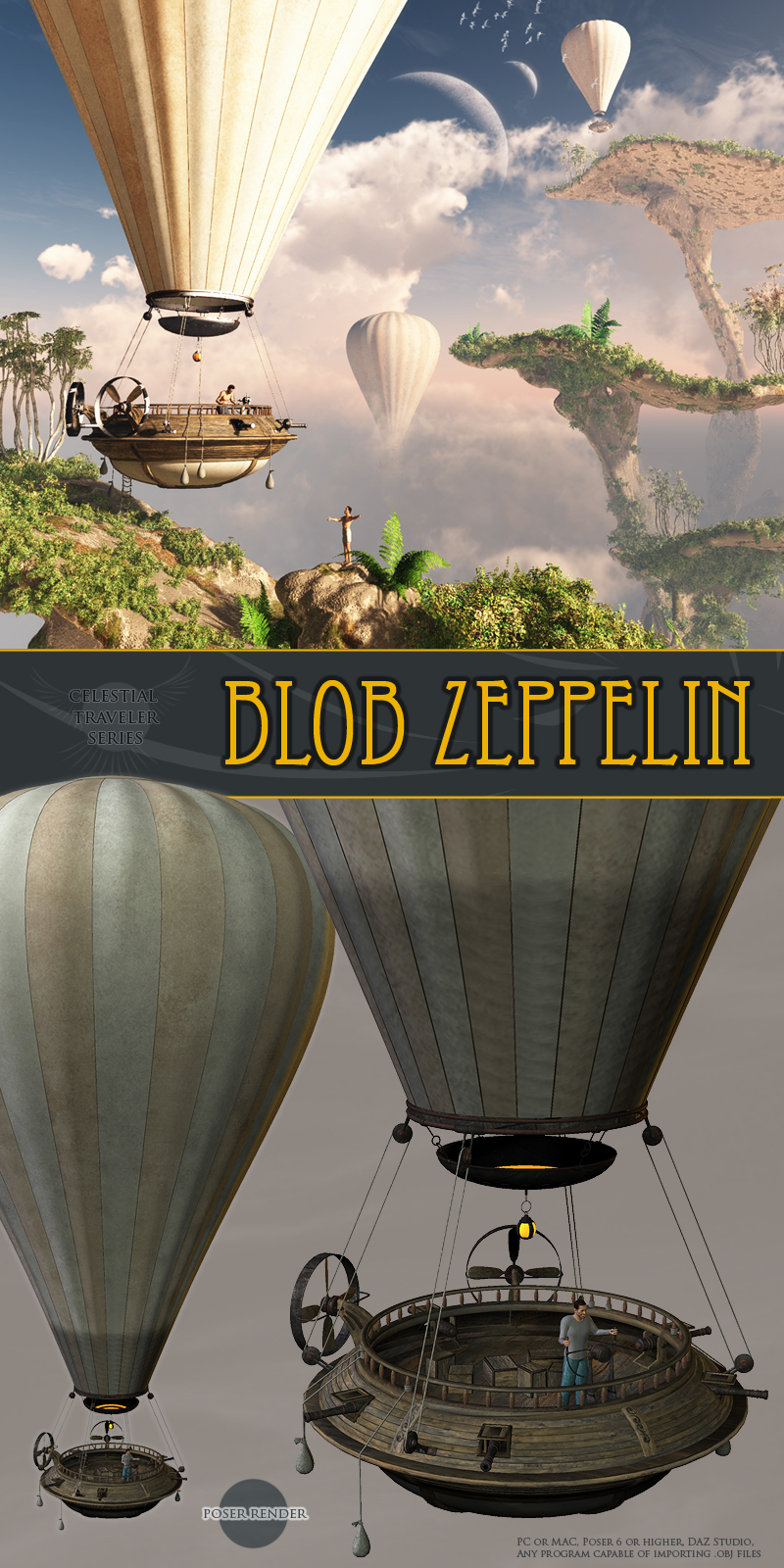 Blob Zeppelin by 1971s