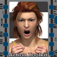 Action Toolkit V4 Software Poses/Expressions 3-d-c