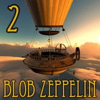 Blob Zeppelin 2 Themed Transportation 1971s