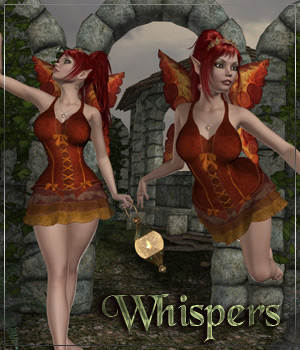 WHISPERS for Fairy Wings Dress  Anagord