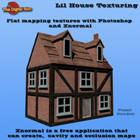 Lil House Texturing Tutorials : Learn 3D Fugazi1968