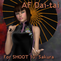 AF Dai-tai 3D Figure Assets Angelsfury2004