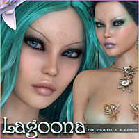 Lagoona 3D Figure Essentials Silver