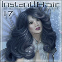 Instant Hair 17 2D Graphics 3D Models ilona