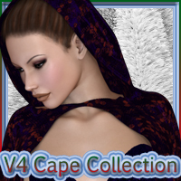 V4 Cape Collection Materials/Shaders Clothing 2D And/Or Merchant Resources nikisatez