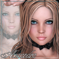 FR Alexandra 3D Figure Essentials Freja