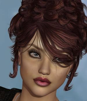 Lira Hair for V4 and G1 by SWAM