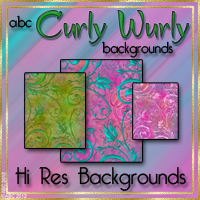 ABC CurlyWurly Backgrounds 2D And/Or Merchant Resources Themed Bez
