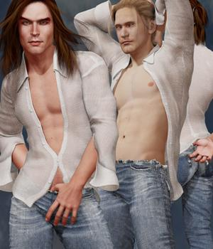 SAV's Hot Men by StudioArtVartanian
