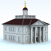 Ionic Building (for Vue) Themed Props/Scenes/Architecture Digimation_ModelBank