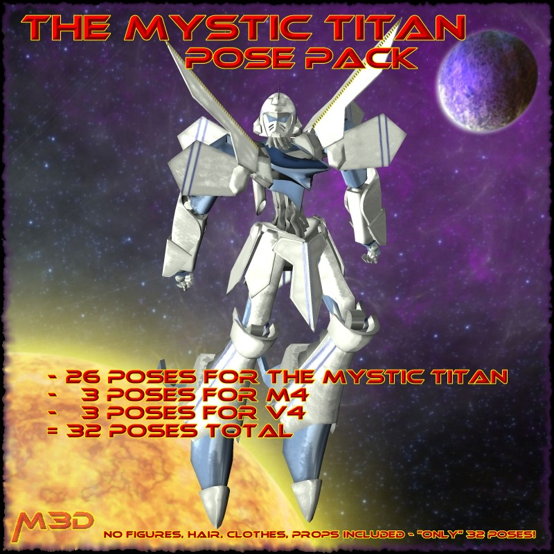 The Mystic Titan Pose Pack