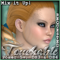 Touchable Hr-079 Hair -Wolfie-