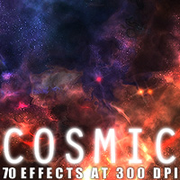 Cosmic 3D Models 2D Graphics designfera