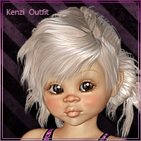 Kenzi Kids 3D Figure Essentials Leilana