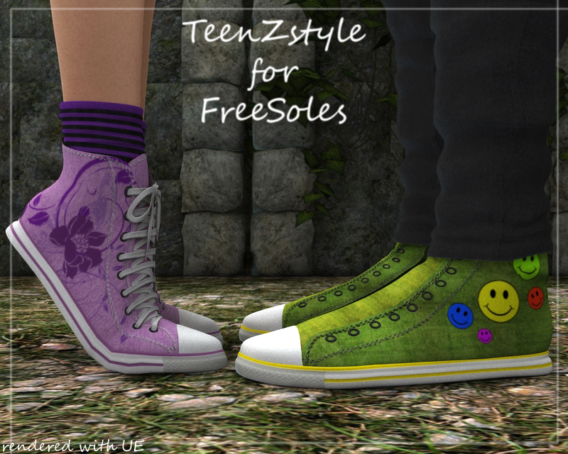 TeenZstyle - Free Sole