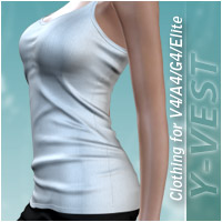 Y-vest 3D Figure Essentials halcyone