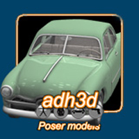 1949 Ford Tudor Themed Transportation adh3d