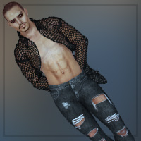 Ripped for SAV's Hot Men 3D Figure Essentials Imaginary_House