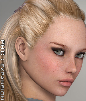 PHC : SAV Electra Themed Hair P3D-Art