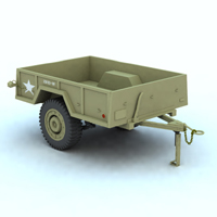 Cargo M101 (for Vue) 3D Models Digimation_ModelBank