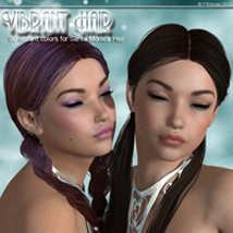 Vibrant Santa Monica Hair Software Hair P3Design