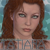 Surreal Tatiana 3D Figure Essentials surreality