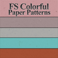 FS Colorful Paper Patterns 2D And/Or Merchant Resources Themed FrozenStar