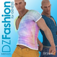 DZ Fashion Set 4 for Genesis 3D Figure Assets dzheng