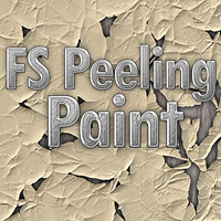 FS Peeling Paint 2D Graphics 3D Models FrozenStar