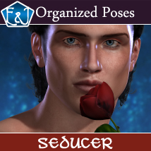 Seducer 611 Organized Poses For M4 3D Figure Assets EmmaAndJordi