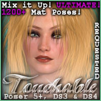 Touchable Ugly Themed Hair -Wolfie-